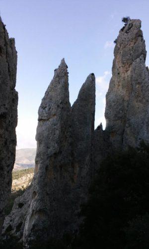 Les Frares – Plá de la Casa (Sierra de la Serrella) 18/11/2017