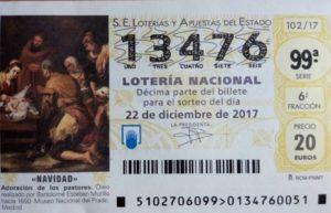 Loteria de Navidad 2017 CMM