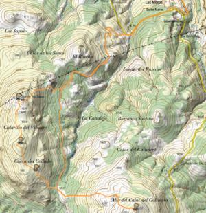 Calar de los Sapos 1.944 m. y Calar del Gallinero 2.052 m. – 23/12/2017